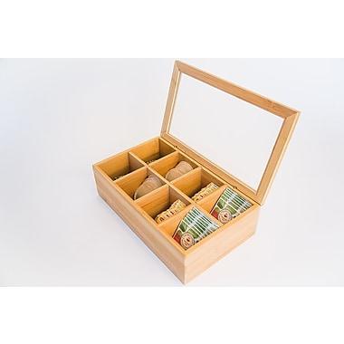 Axis International Bamboo Storage Box