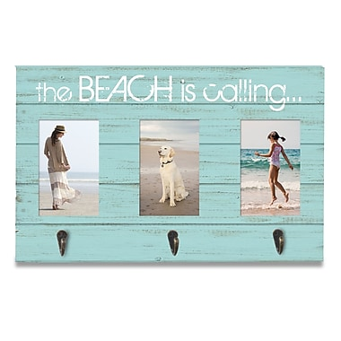 Prinz Sea Breeze 'The Beach is Calling' Wall Mounted Coat Rack