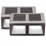 Touch of ECO Sunstep Solar 2-Light Deck Light (Set of 2)