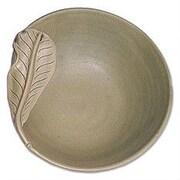 Novica Frangipani Leaves Ceramic Bowl