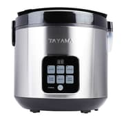 Tayama 10-Cup Digital Rice Cooker and Food Steamer; Black