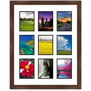Frames By Mail 9 Opening Collage Picture Frame; 6'' x 4''