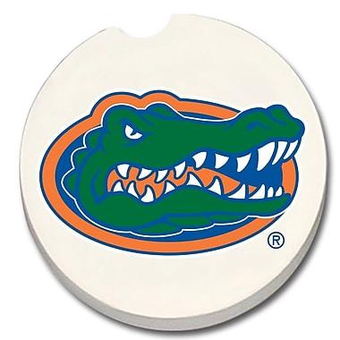 CounterArt NCAA Car Coaster (Set of 2); Florida Gators