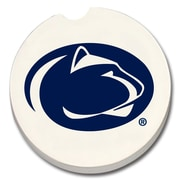 CounterArt NCAA Car Coaster (Set of 2); Penn State Nittany Lions