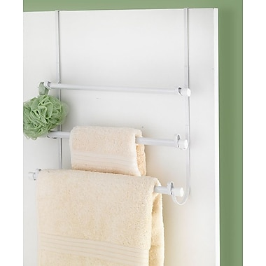 Popular Bath Products Over-the-Door Towel Rack