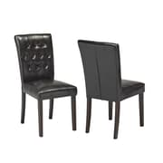 Brassex Soho Dining Chair, 2/Pack