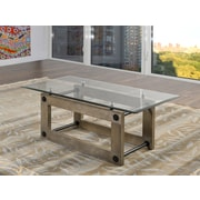 Brassex Fresno Coffee Table, Ash Brown (280-02)