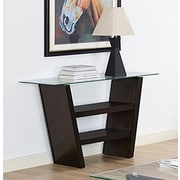 Brassex Tivoli Sofa Table, Espresso (256-08)