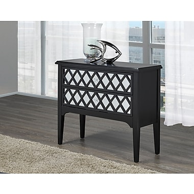 Brassex Accent Chest, Black (19307-BK)
