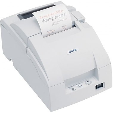 Epson U220D POS Impact Printer, White