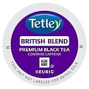Tetley British Blend Premium Black Tea, Keurig K-Cup Pods, 24/Box (GMT6855)