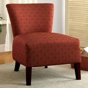 Hokku Designs Menara Slipper Chair; Red