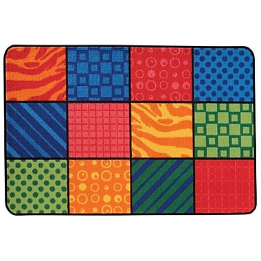 Kids Value Rugs Patterns at Play Kids Rug; 4' x 6'
