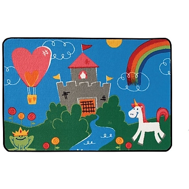 Kids Value Rugs Fantasy Fun Kids Rug; 3' x 4'6''
