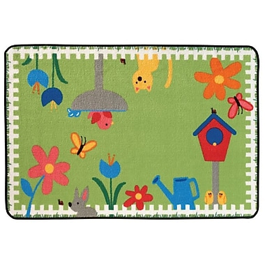 Kids Value Rugs Garden Time Kids Rug; 4' x 6'