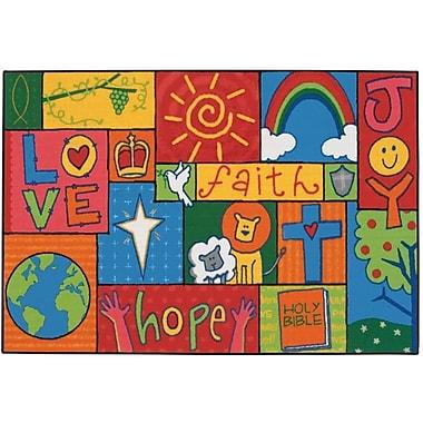 Kids Value Rugs Inspirational Patchwork Kids Rug; 3' x 4'6''