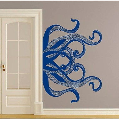 Decal House Kraken Tentacles Wall Decal; Blue
