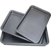 Culinary Edge 3 Piece Cookie Sheet Set