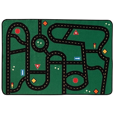 Kids Value Rugs Go Go Driving Kids Area Rug; 3' x 4'6''