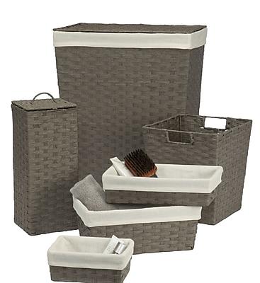 Creative Bath Laundry Hamper and Waste Basket