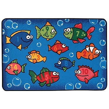 Kids Value Rugs Something Fishy Kids Rug; 4' x 6'