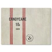 Kavka Candy Cane Cutting Board; 16'' H x 12'' W x 1'' D