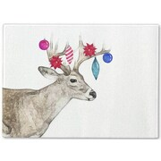 Kavka Jingle Deer Cutting Board; 12'' H x 8'' W x 1'' D