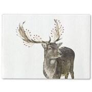 Kavka Berry Deer Cutting Board; 12'' H x 8'' W x 1'' D