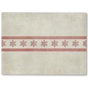 Kavka Snowflakes Cutting Board; 12'' H x 8'' W x 1'' D