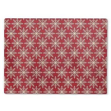 Kavka Flakes Cutting Board; 12'' H x 8'' W x 1'' D