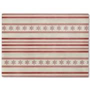 Kavka Holiday Stripes Cutting Board; 16'' H x 12'' W x 1'' D