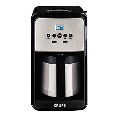 Krups Savoy Programmable Thermal Filter Coffee Machine WYF078279293726