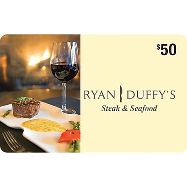 Carte-cadeau Ryan Duffy de 50 $