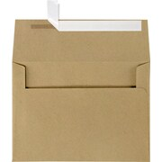 LUX A7 Invitation Envelopes (5 1/4 x 7 1/4) 50/Box, Grocery Bag (4880-GB-50)