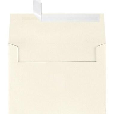 LUX A7 Invitation Envelopes (5 1/4 x 7 1/4) 50/Box, Natural Linen (4880-NLI-50)