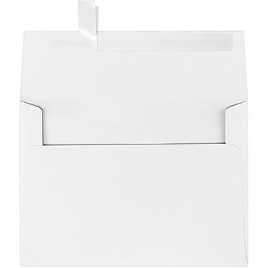 LUX A7 Invitation Envelopes (5 1/4 x 7 1/4) 1000/Box, Bright White - 100% Cotton (4880-SW-1000)