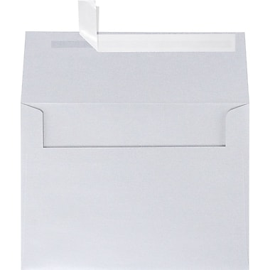 LUX A7 Invitation Envelopes (5 1/4 x 7 1/4) 50/Box, Silver Metallic (5380-06-50)