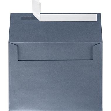 LUX A7 Invitation Envelopes (5 1/4 x 7 1/4) 50/Box, Anthracite Metallic (5380-15-50)