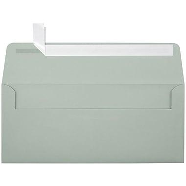 LUX Peel & Press #10 Square Flap Envelopes (4 1/8 x 9 1/2) 250/Box, Slate (ET4860-14-250)