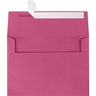LUX A7 Invitation Envelopes (5 1/4 x 7 1/4) 50/Box, Magenta (EX4880-10-50)