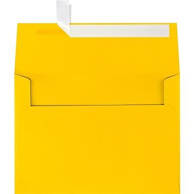 LUX A7 Invitation Envelopes (5 1/4 x 7 1/4) 50/Box, Sunflower (EX4880-12-50)