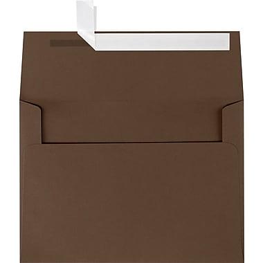 LUX A7 Invitation Envelopes (5 1/4 x 7 1/4) 1000/Box, Chocolate (EX4880-17-1000)