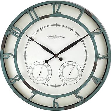 FirsTime 18.75'' Laguna Outdoor Wall Clock