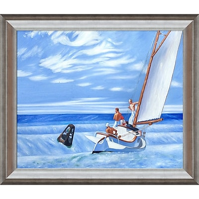 Tori Home Ground Swell, 1939 by Edward Hopper Framed Painting Print