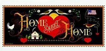 HadleyHouseCo 'Home Sweet Home' by Charles Wysocki Graphic Art
