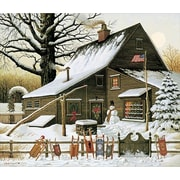 HadleyHouseCo 'Cocoa Break at the Copperfields' by Charles Wysocki Painting Print