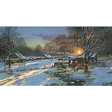 HadleyHouseCo 'Back Home Again' by Dave Barnhouse Painting Print