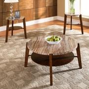 Steve Silver Furniture Tivoli 3 Piece Coffee Table Set by