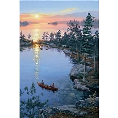 HadleyHouseCo 'On Higher Ground II' by Darrell Bush Painting Print