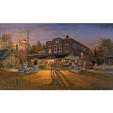 HadleyHouseCo 'Ready to Ride' by Dave Barnhouse Painting Print